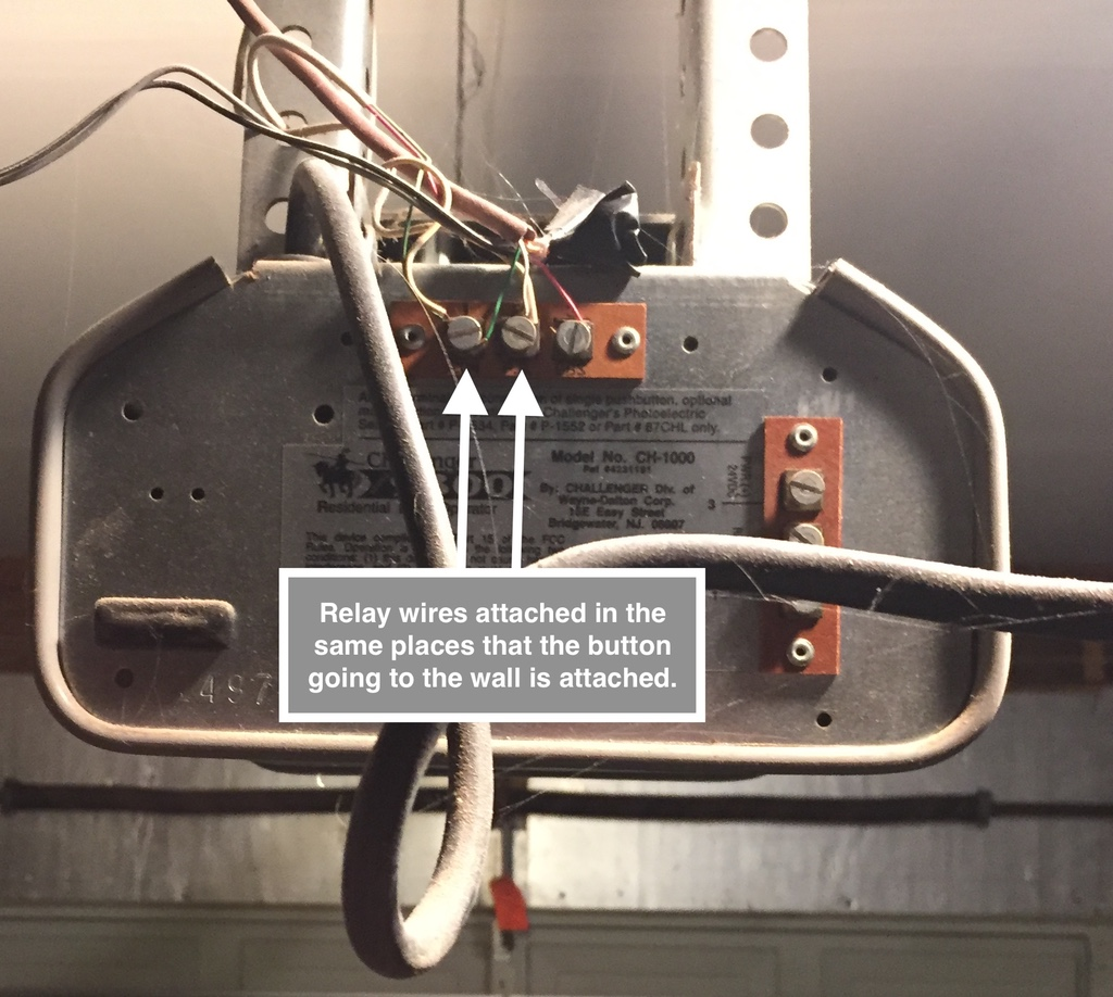 Homebridge Rasppi Gpio Garagedoor Npm Wiring A Garage Door Opener Effective You Need Two Parts Relay That Will Perform The Duty Of Button And Reed Switch Detect When Your