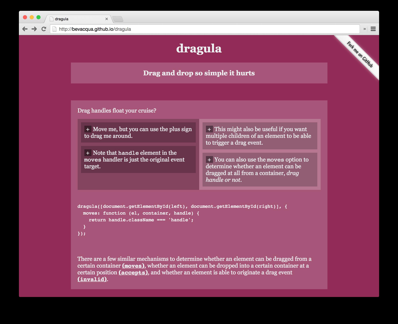 GitHub - valor-software/ng2-dragula: Simple drag and drop