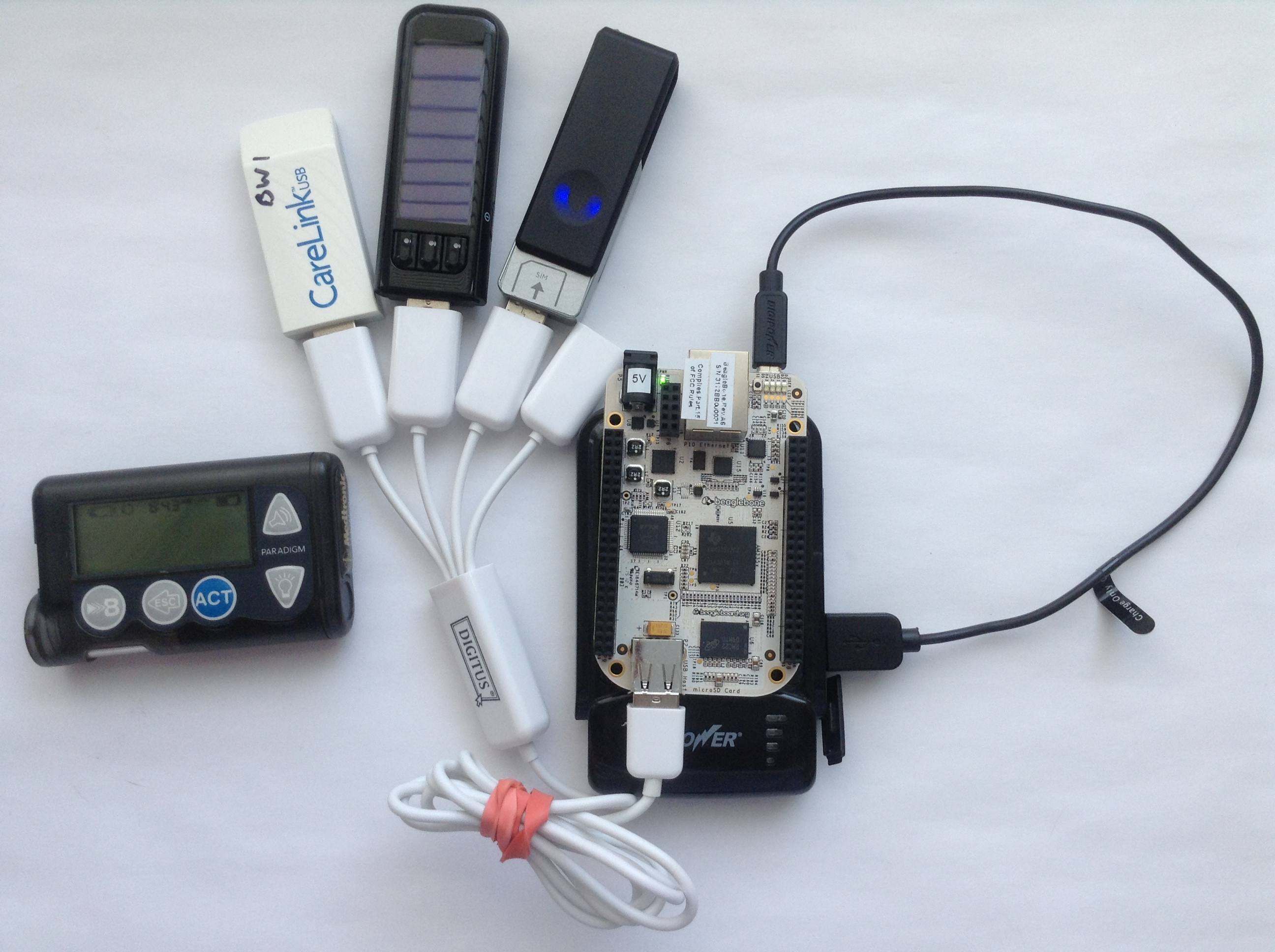 beaglebone carelink 3g bayer usb