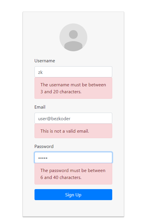 react-typescript-login-example-form-validation