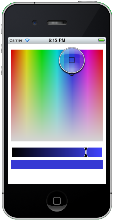 Example Color Picker with Loupe