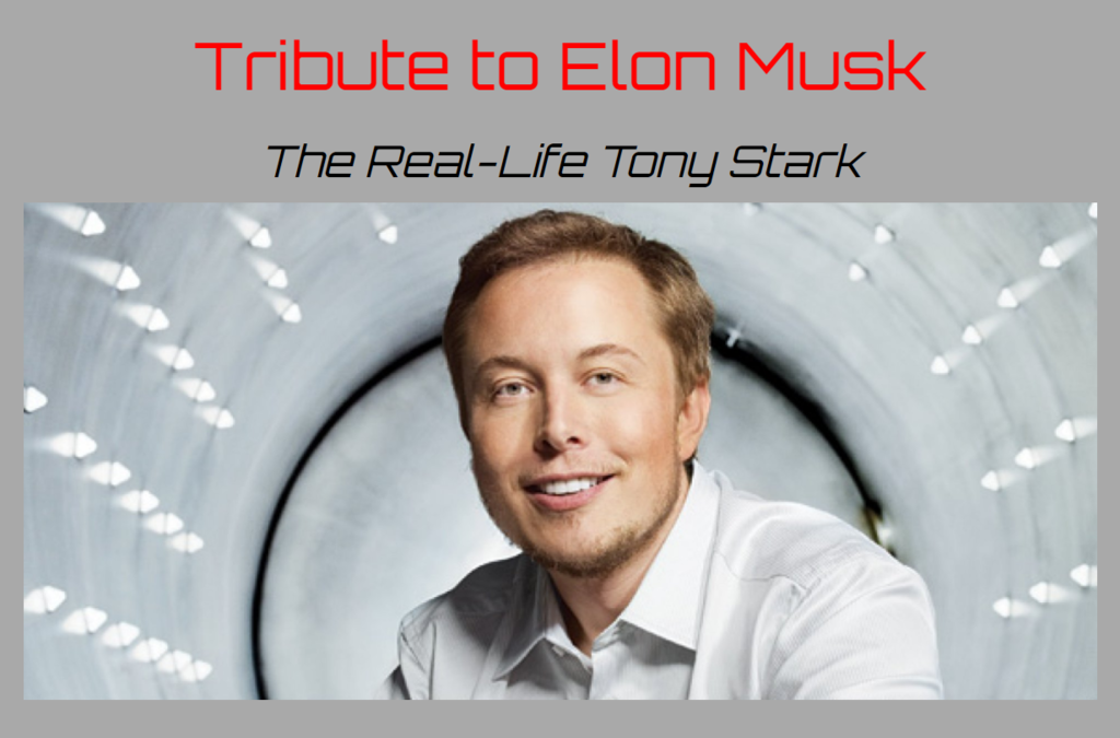 Elon Musk tribute page