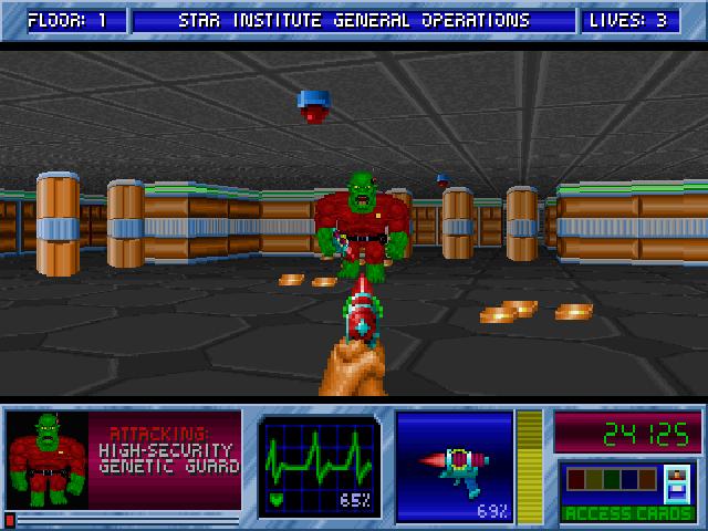 BStone: Aliens of Gold screenshot (640x480)