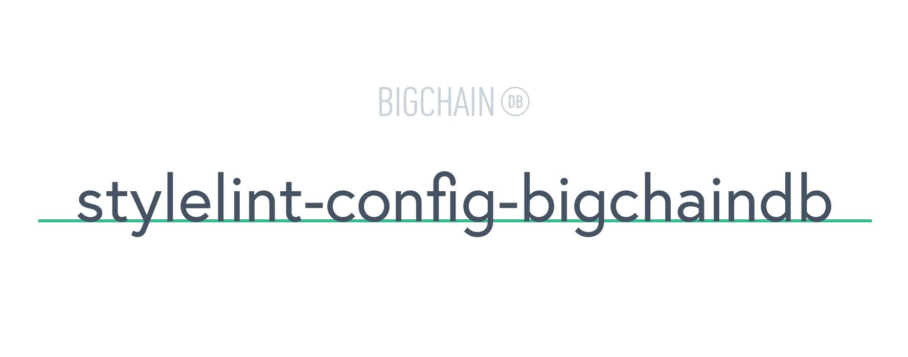 stylelint-config-bigchaindb