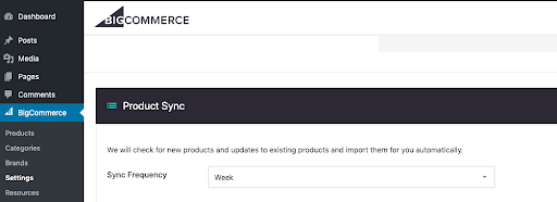 Product Sync