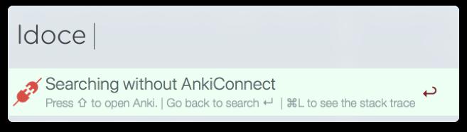 search wichout Anki
