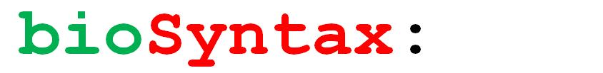 bioSyntax Logo