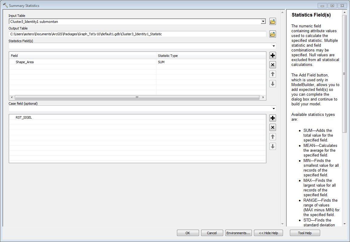 ArcGis/Summarize (Grouping Values) md at master · biometry
