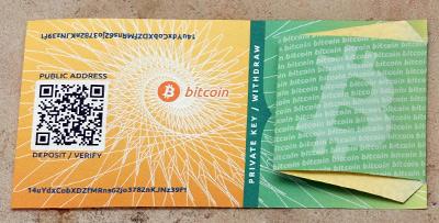 图4-11 通过bitcoinpaperwallet.com 生成的、私钥被密封住的纸钱包