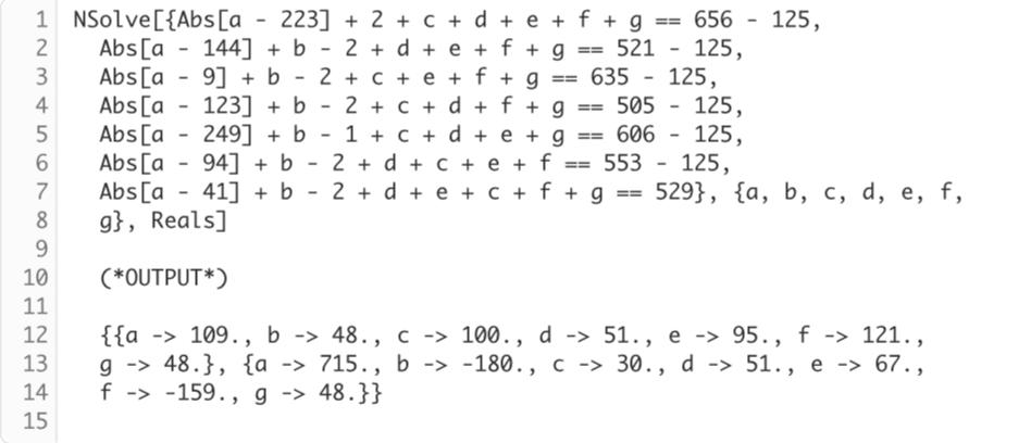 mathematica()