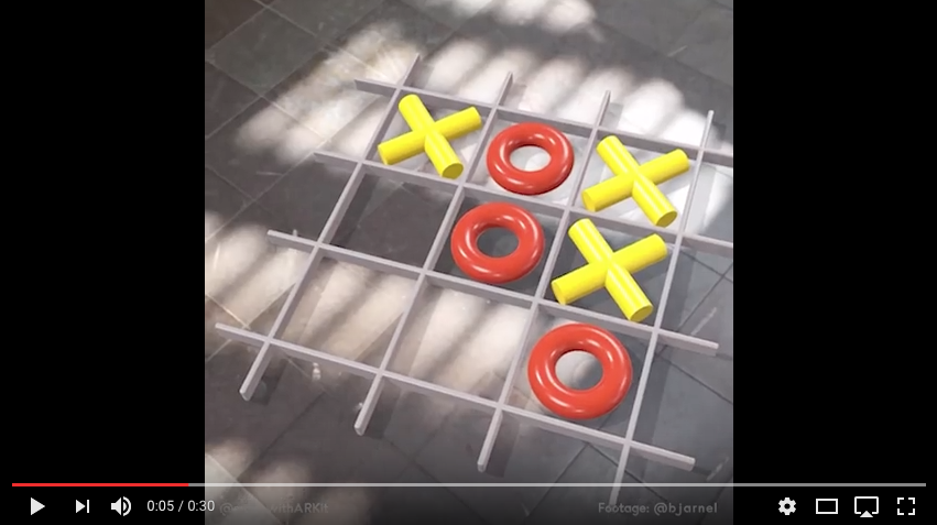 Tac-Tac-Toe with ARKit