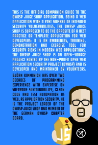 Pwning OWASP Juice Shop back cover
