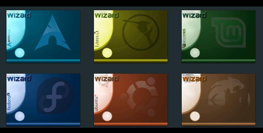 package-wizard-distros