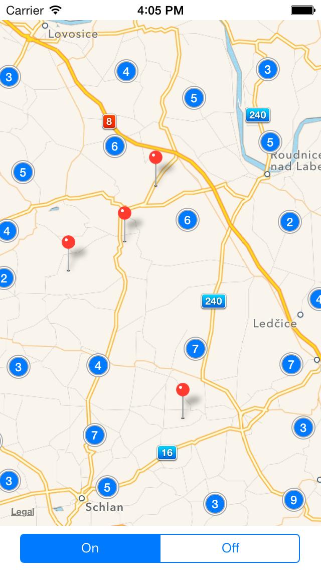 No Clusterization Screenshot