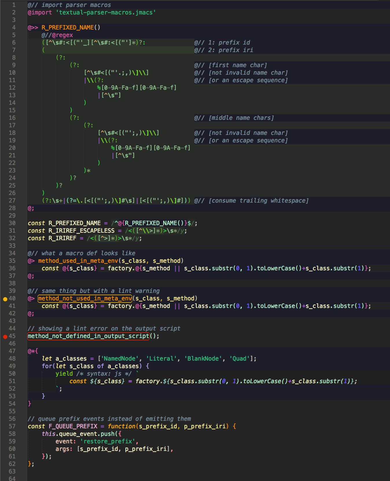 Syntax Highlighting Showcase