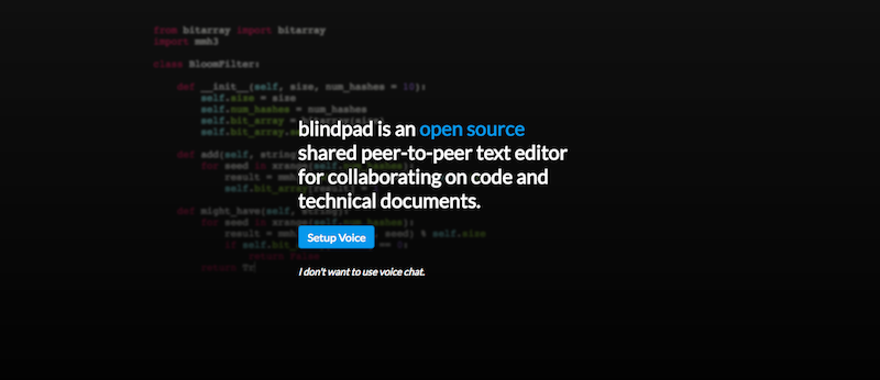 GitHub - blindpad/blindpad: Collaborative text editor (like Google