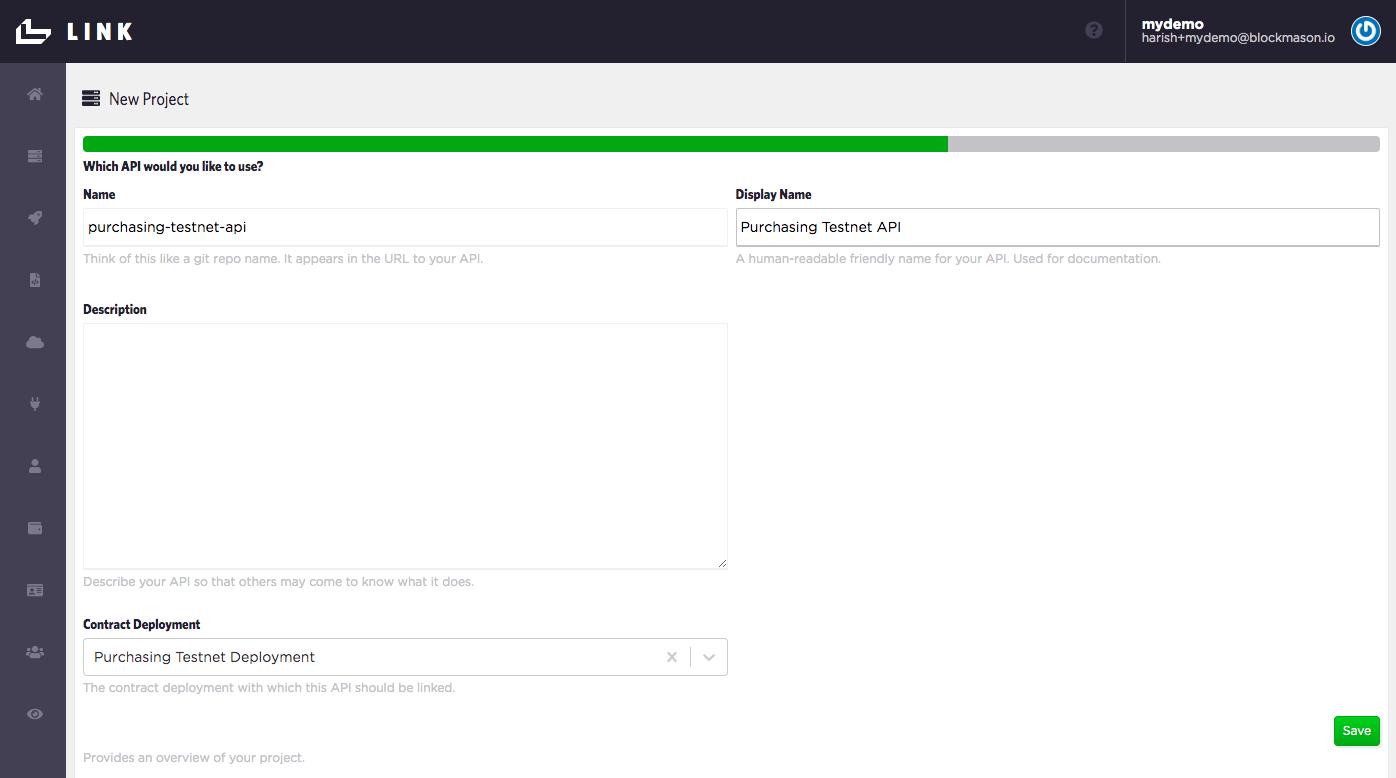 Link API Setup