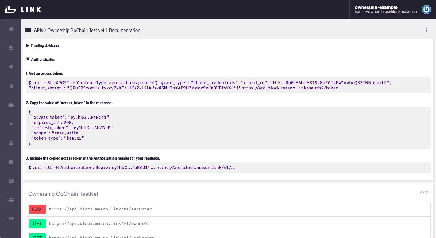 API Documentation Link