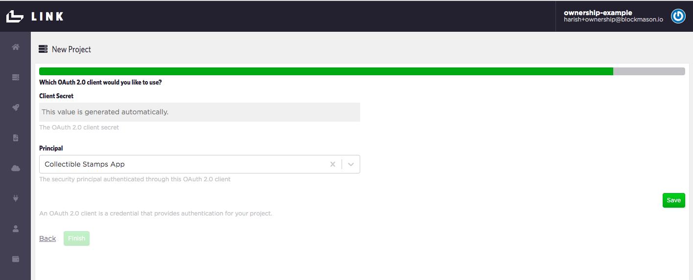 Create new OAuth