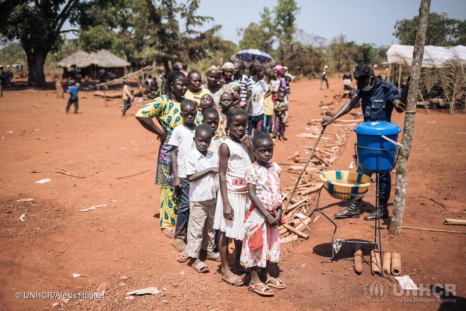 Central African refugees