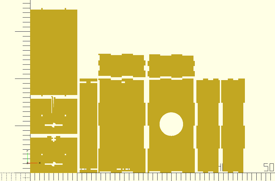 Github Rogerclarkmelbourne Lasercut Module For Openscad