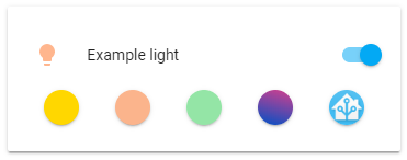 Icon color examples