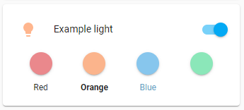 Light label examples
