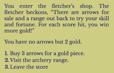 An Archery Shop