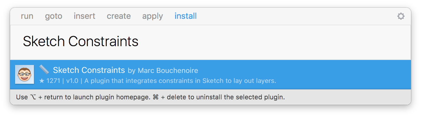 Install Sketch Constraints with Sketch Runner