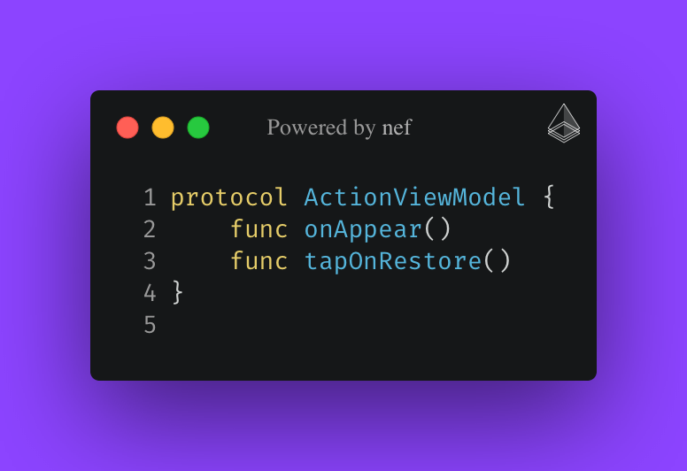 nef: action for exporting code selection to image file