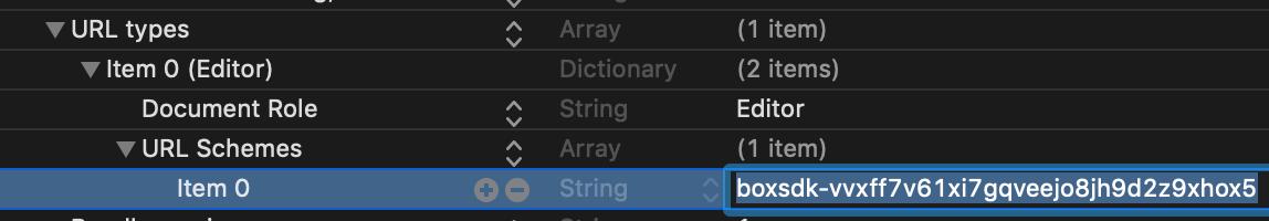 location to add redirect URL scheme in Xcode