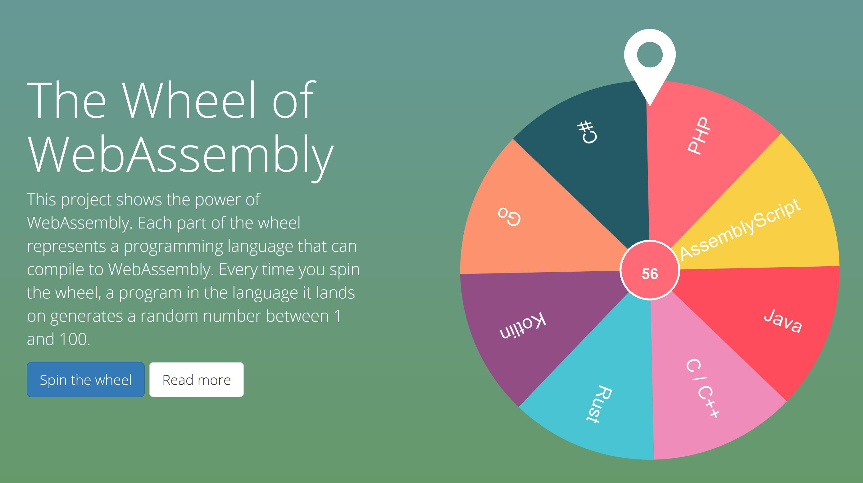 Wheel of WebAssembly logo