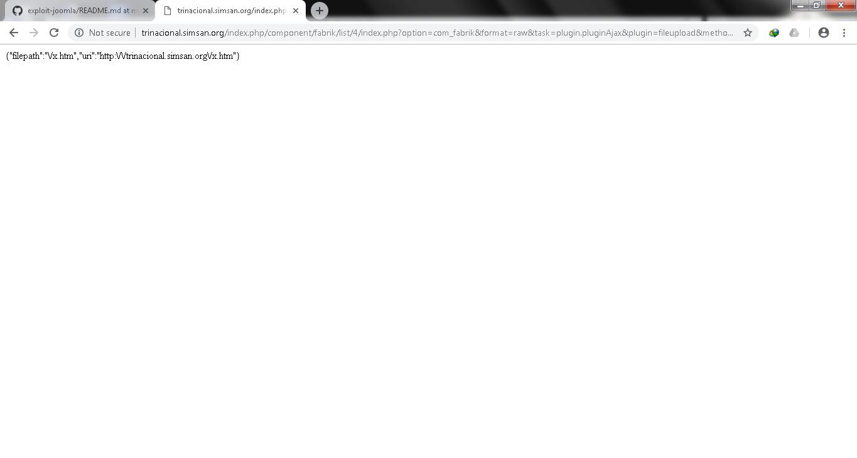 GitHub - boychongzen18/exploit-joomla