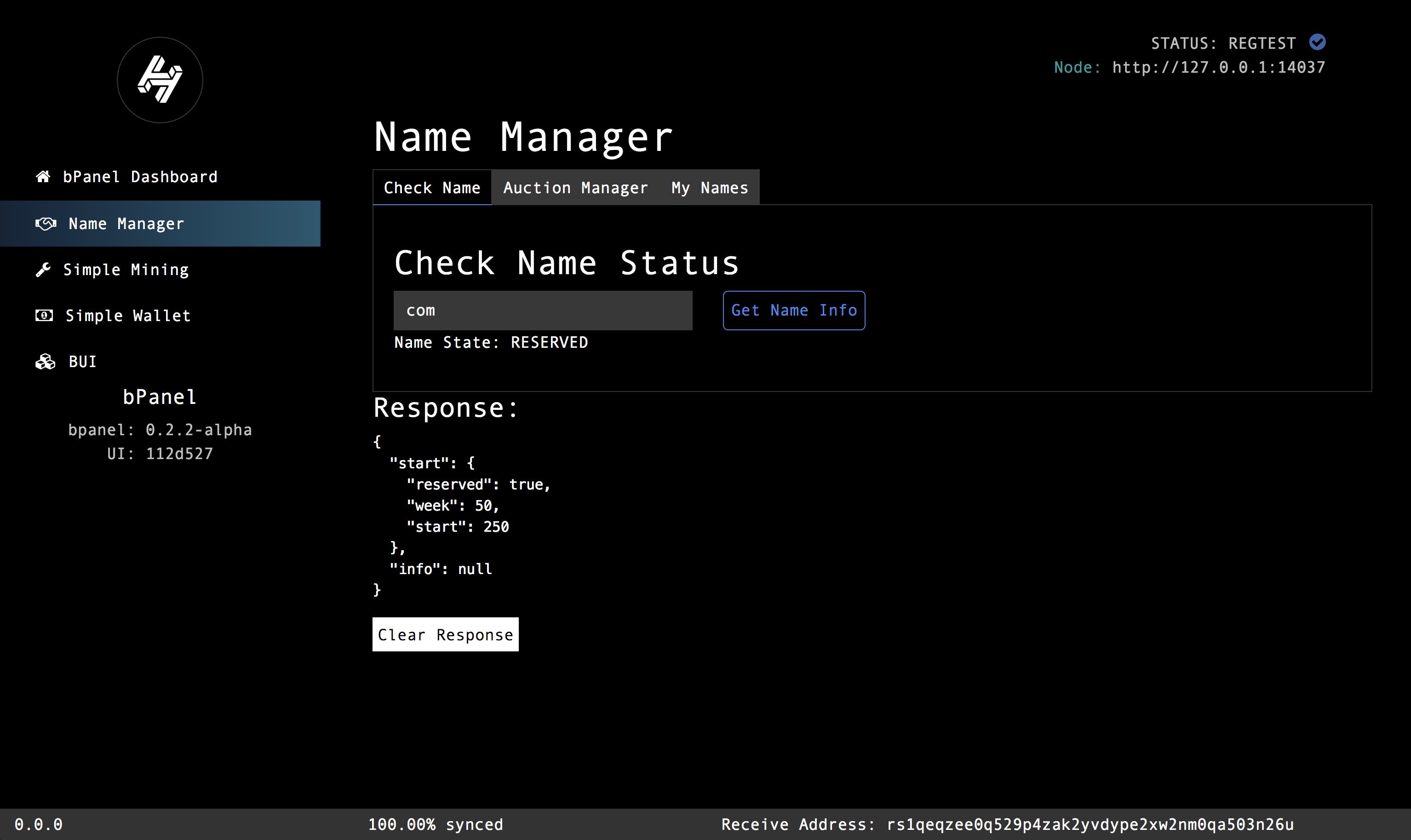 nameManager