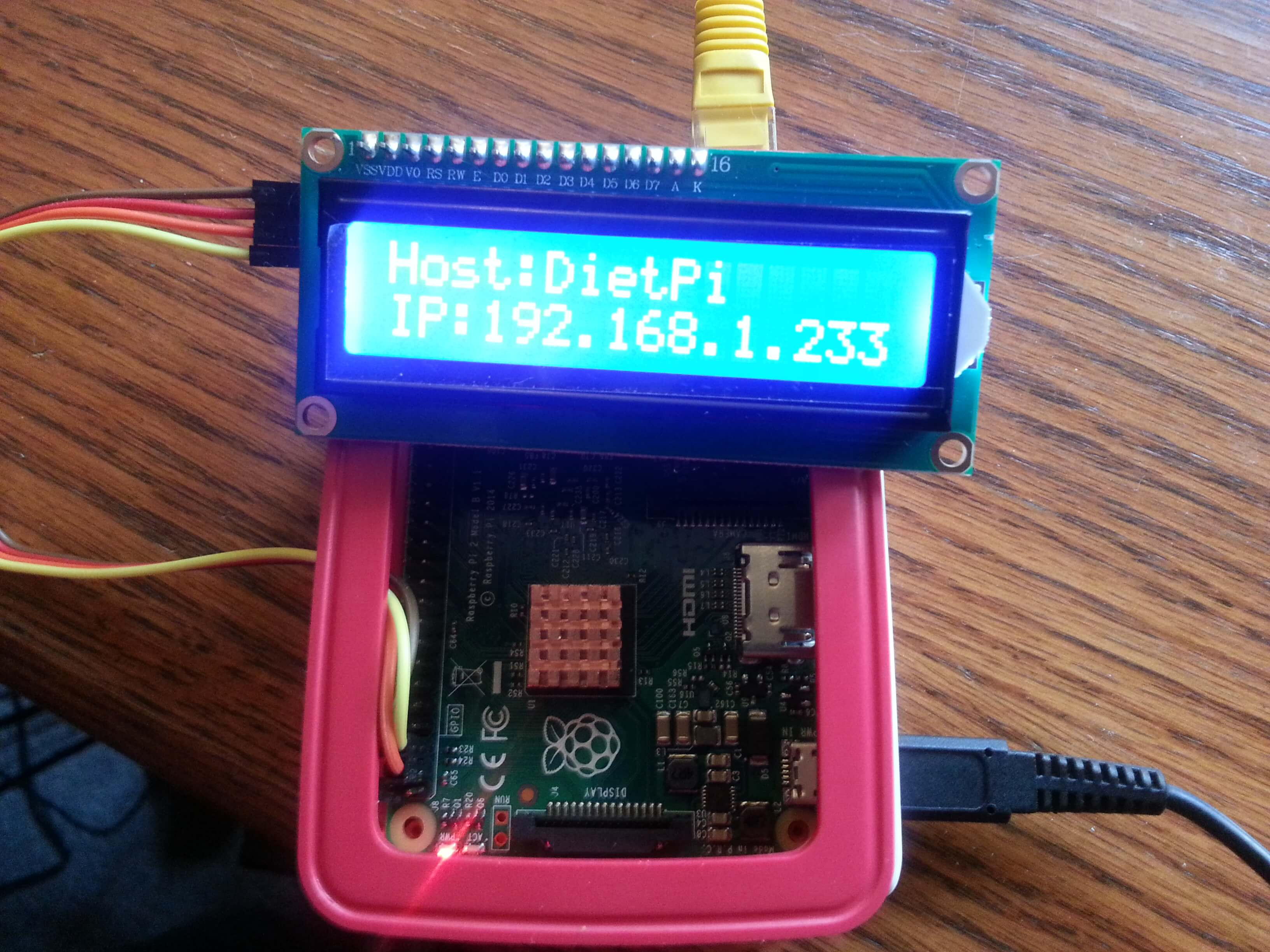 GitHub - bradgillap/I2C-LCD-Display: Drivers and code for