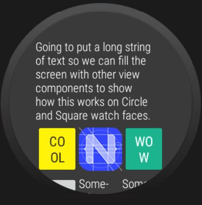 Cirlce Watch Usage