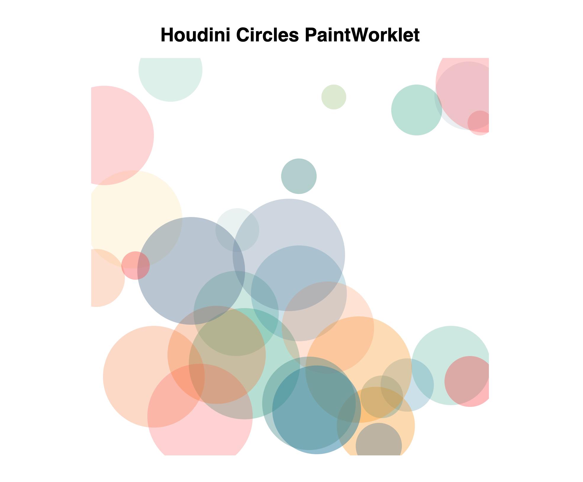 CSS Houdini Circles