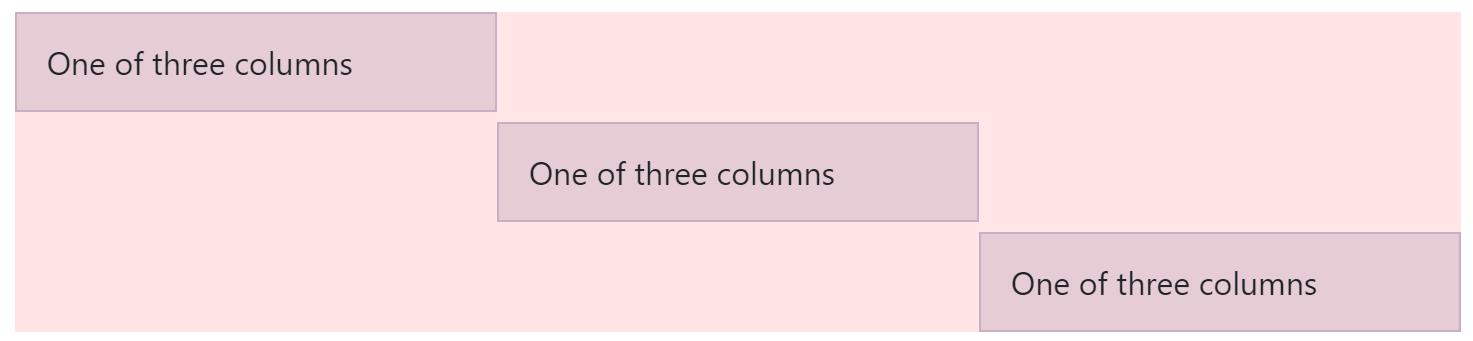 Column Vertical Alignment