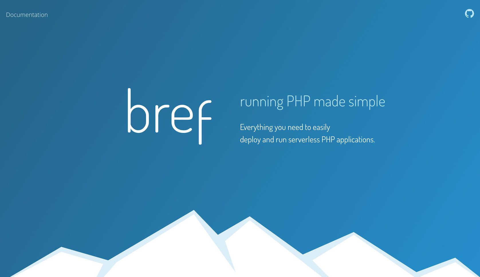 Running PHP made simple. Bref provides tools and documentation to easily deploy and run serverless PHP applications. Learn more
