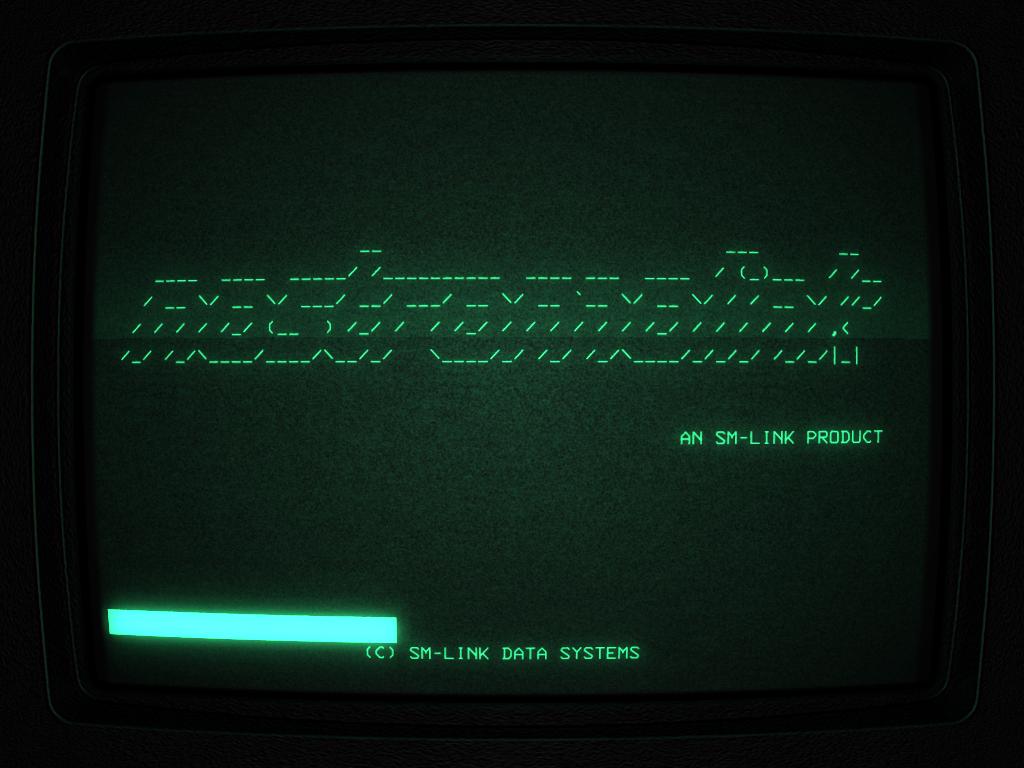 Alien-Console splash screen