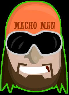 Macho Man Logo