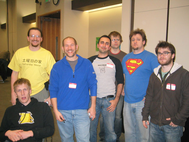 Seattle Startup Weekend - Picture of some of the Core Developers