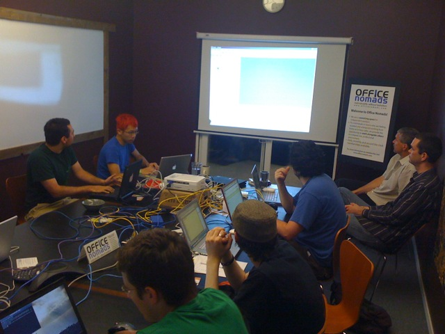 Some of our Django Seattle Sprinters