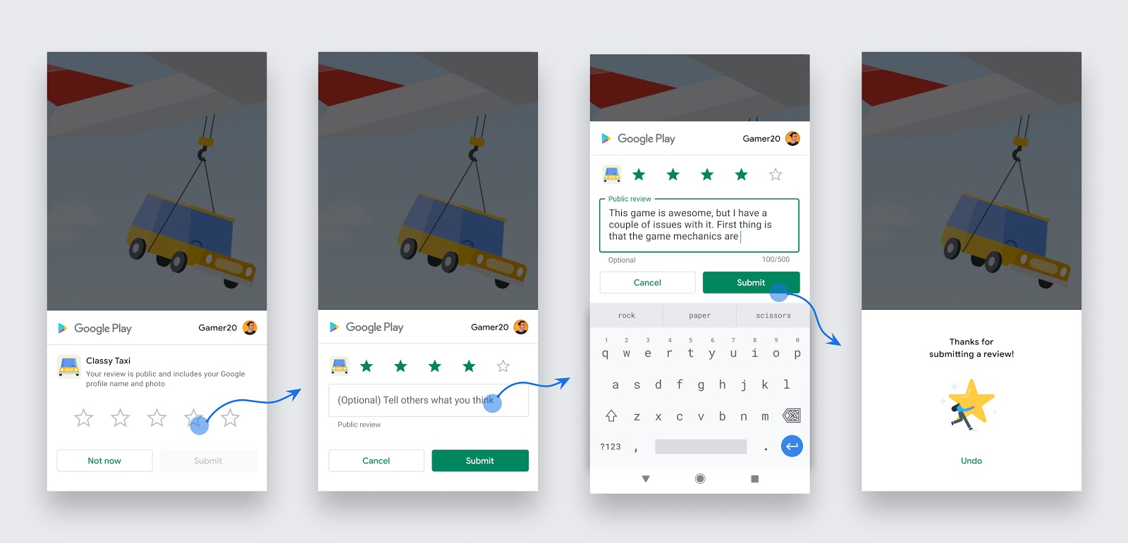 In-App Review Android Demo