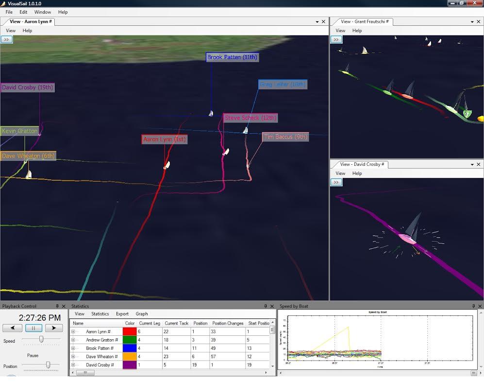 visual sail screenshot
