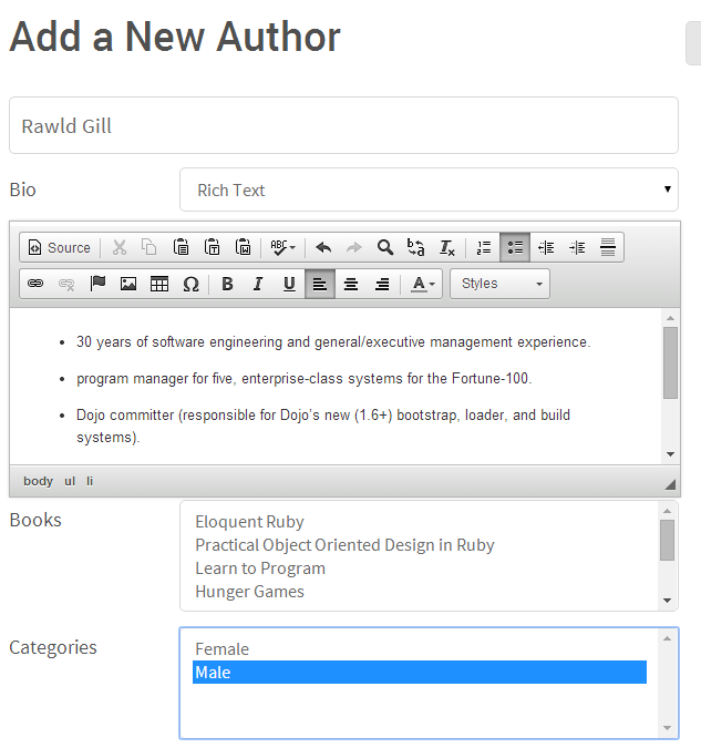 Add Author 2