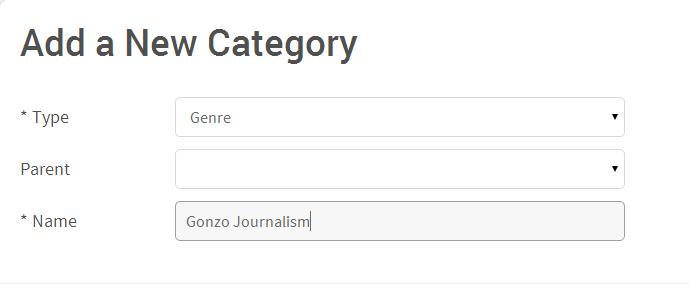 Add Category