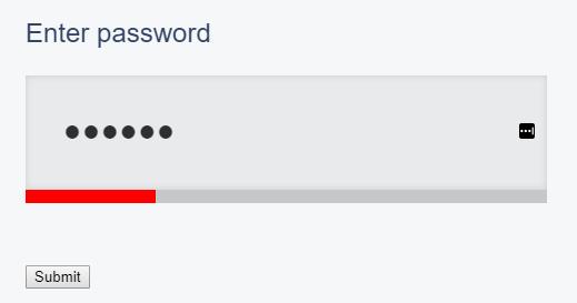 password selector
