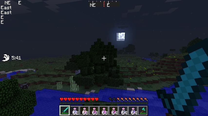 Скачать мод Armorstatushud для Minecraft 1.6.4