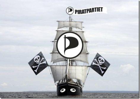 海盗党的标志